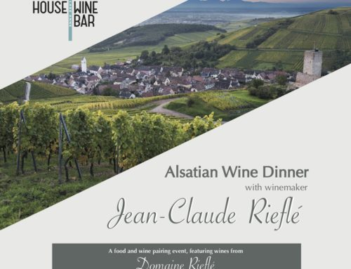 Spring in Alsace!- Riefle Wine Dinner