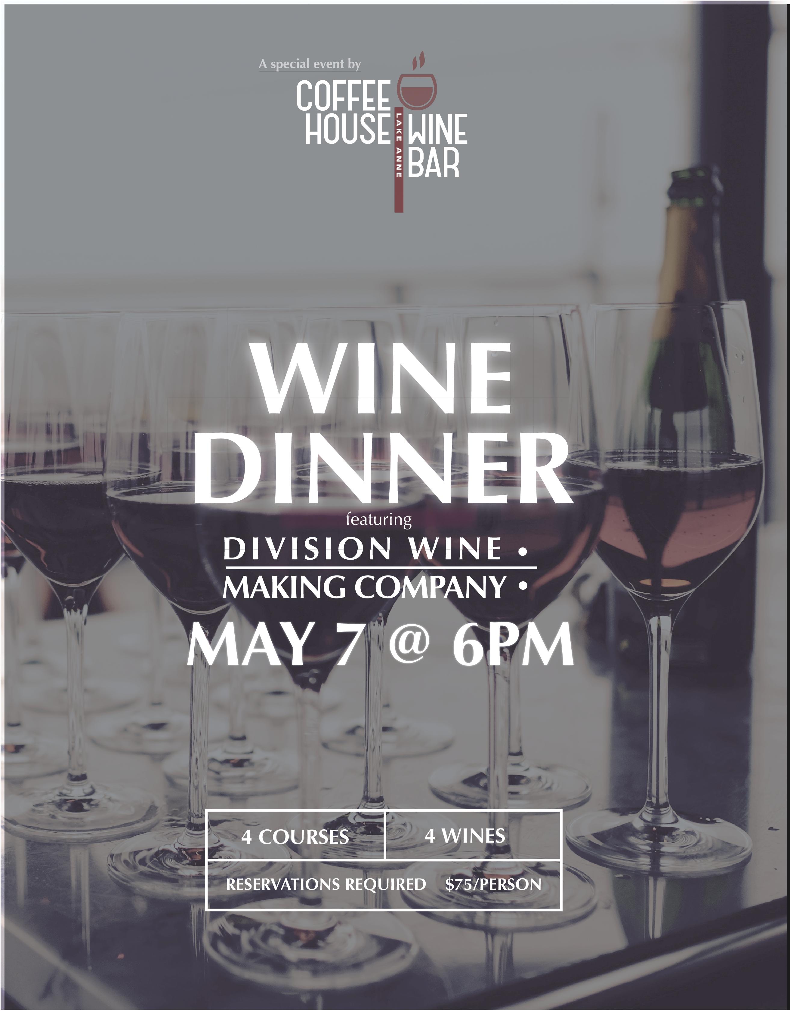 Division Wine Dinner