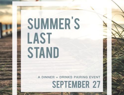 Summer's Last Stand Dinner Event